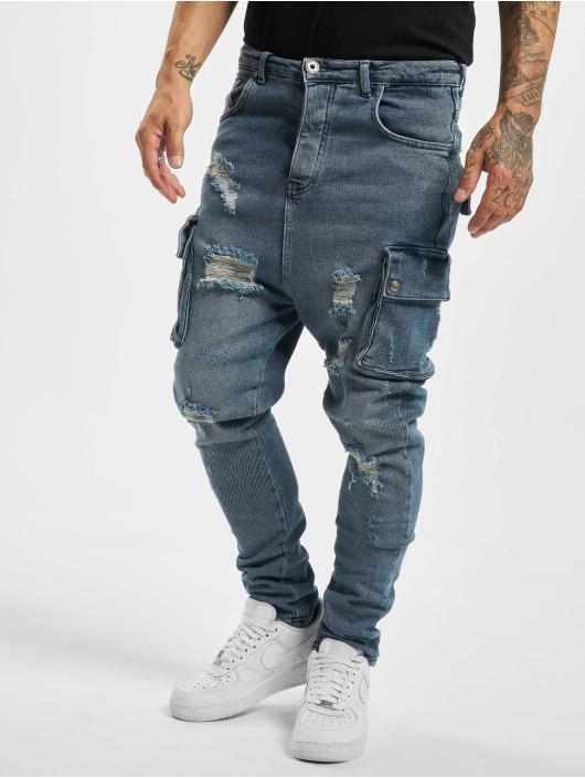 VSCT Clubwear dżinsy przylegające Cargo Spencer New Gen 2 Low niebieski