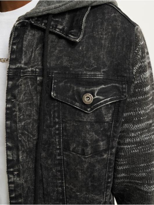 VSCT Clubwear Farkkutakit Hybrid Denim musta