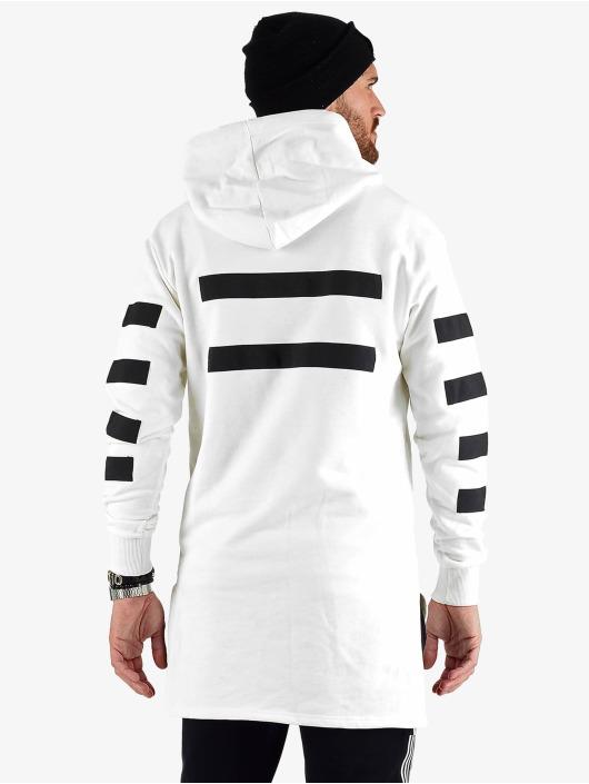 VSCT Clubwear Felpa con cappuccio Geomatrix bianco