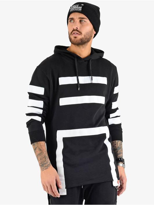 VSCT Clubwear Felpa con cappuccio Geomatrix nero