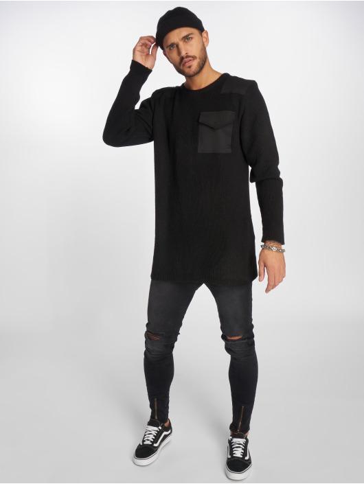 VSCT Clubwear Gensre Military Patch Oversized svart