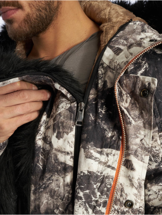 VSCT Clubwear Giacca invernale 3 Face Woodland grigio