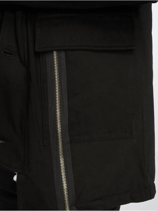 VSCT Clubwear Giacca invernale Zip Decor nero