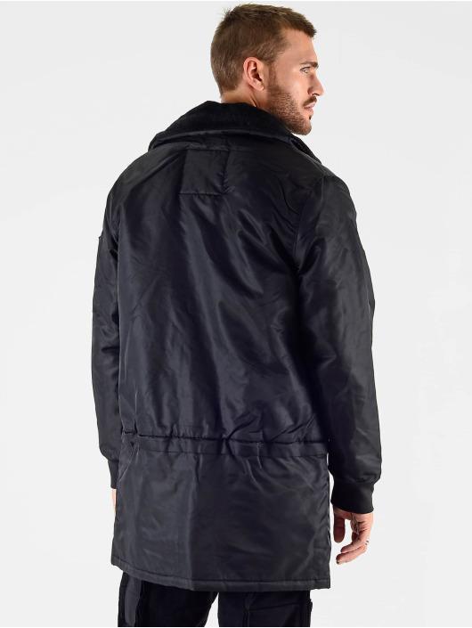 VSCT Clubwear Giacca invernale Huge Decor Zipper nero