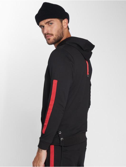 VSCT Clubwear Hoodie Striped Laces black