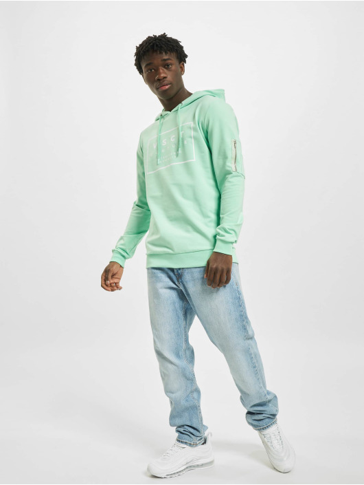VSCT Clubwear Hoodie Hooded Logo Couture turquoise