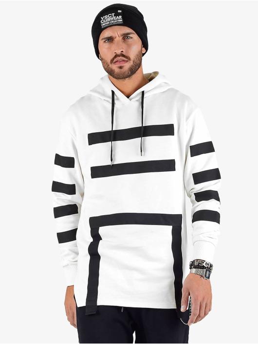 VSCT Clubwear Hoodies Geomatrix bílý