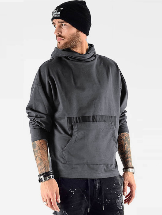 VSCT Clubwear Hoody Hooded Bulky grau