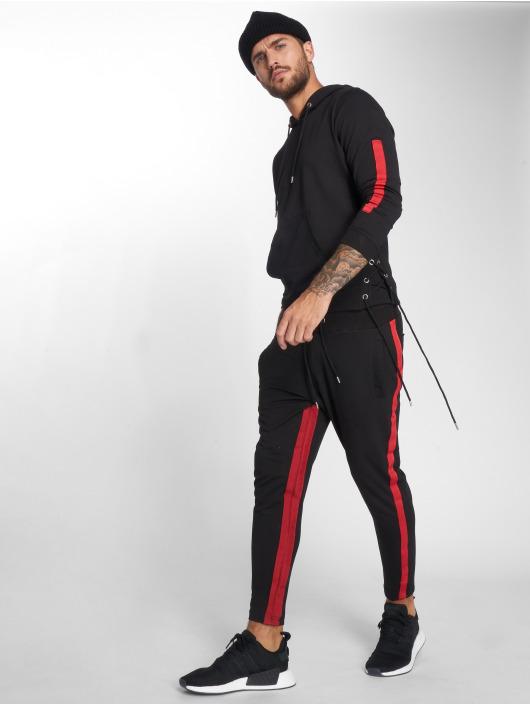 VSCT Clubwear Hoody Striped Laces schwarz