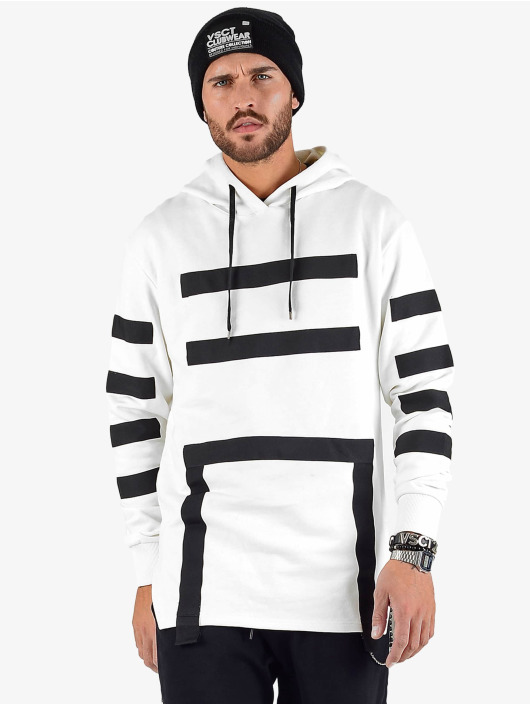 VSCT Clubwear Hoody Geomatrix weiß