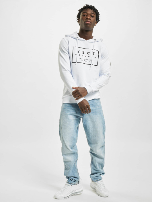 VSCT Clubwear Hoody Hooded Logo Couture weiß