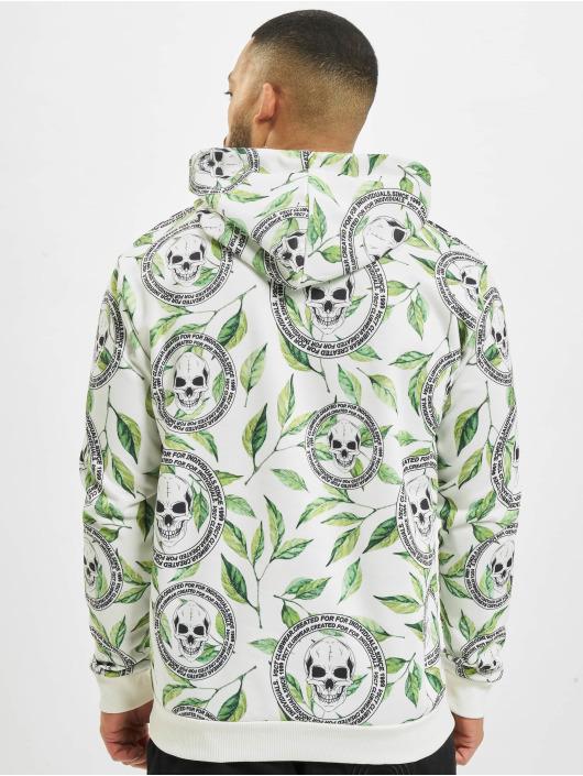 VSCT Clubwear Hoody Skull X Leaf wit