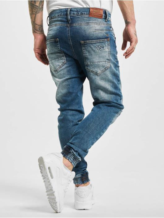 VSCT Clubwear Jean carotte antifit Noah Cuffed Darkblue Random bleu