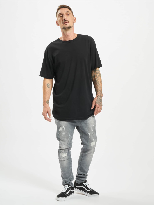 VSCT Clubwear Jean carotte antifit Keanu Lowcrotch gris