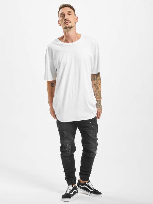 VSCT Clubwear Jean carotte antifit Noah Cuffed Antifit noir