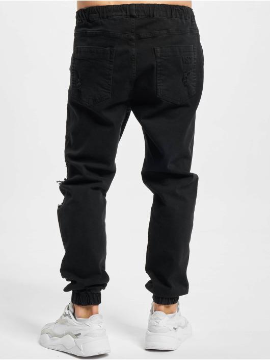 VSCT Clubwear Jean carotte antifit Noah Cuffed Laces noir