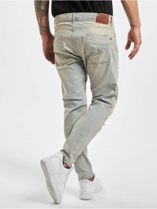 VSCT Clubwear Jean coupe droite New Keanu Spencer Hybrid bleu