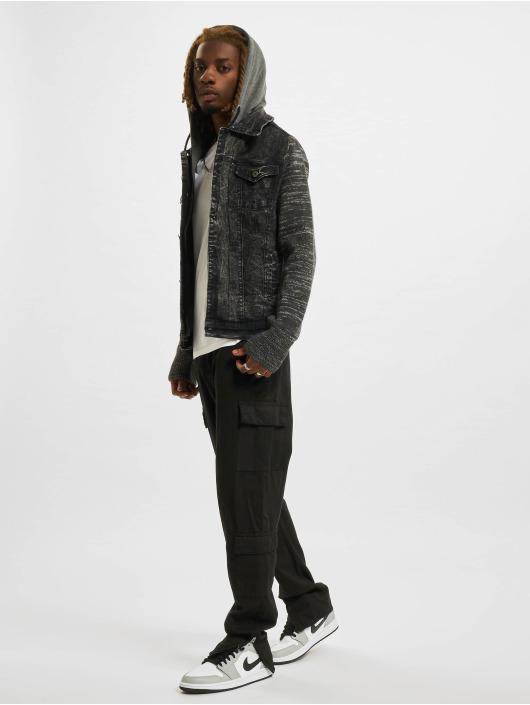 VSCT Clubwear Jean Jakker Hybrid Denim svart