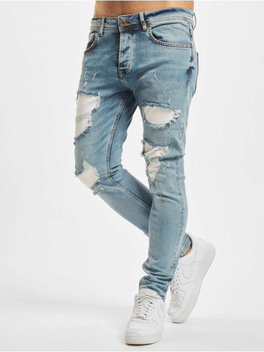VSCT Clubwear Jean skinny Hank Customized bleu