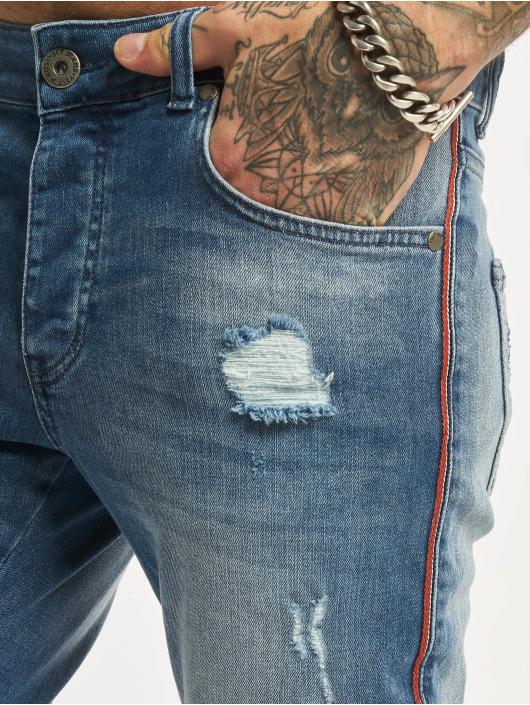 VSCT Clubwear Jean skinny Thor Track bleu