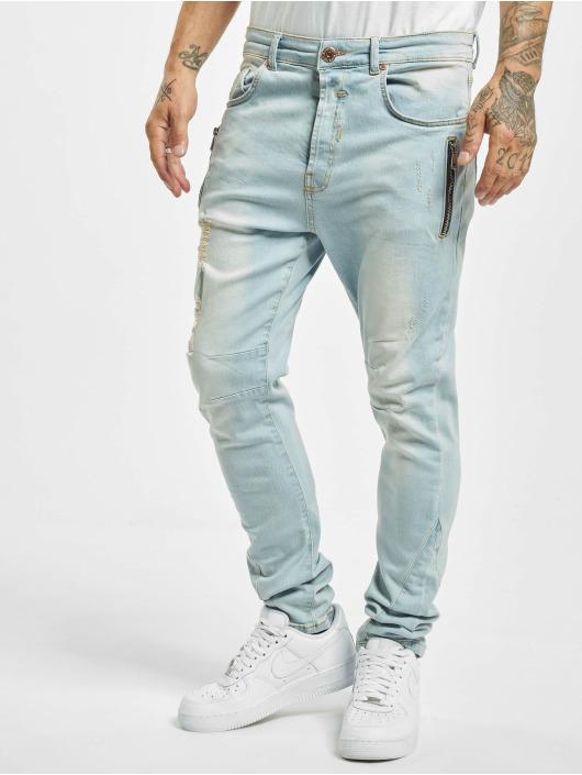 VSCT Clubwear Jean skinny Thor Slim 7 Pocket bleu