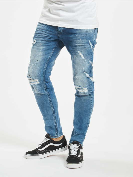 VSCT Clubwear Jean slim Knox bleu