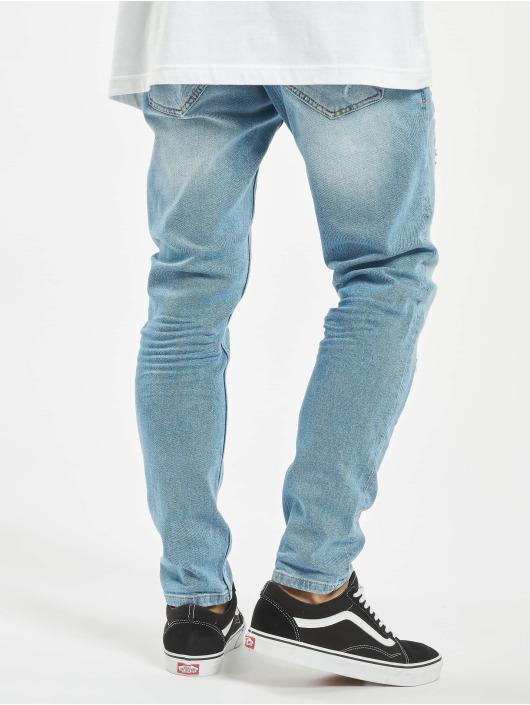 VSCT Clubwear Jean slim Thor Bleached Splatter bleu