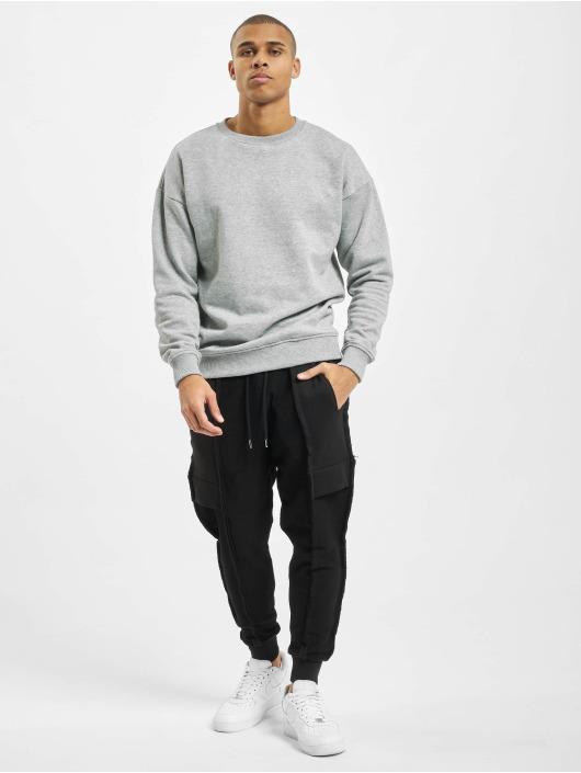 VSCT Clubwear Joggebukser Lowcrotch Cut To Edge svart