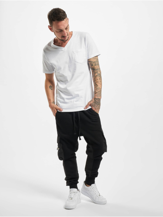 VSCT Clubwear Joggebukser Mix Fabric Future Baggy svart