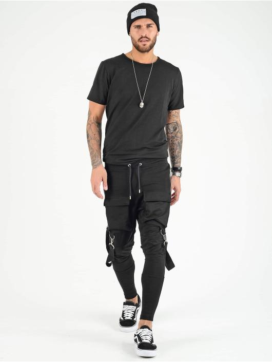 VSCT Clubwear Jogging kalhoty Front PKT čern
