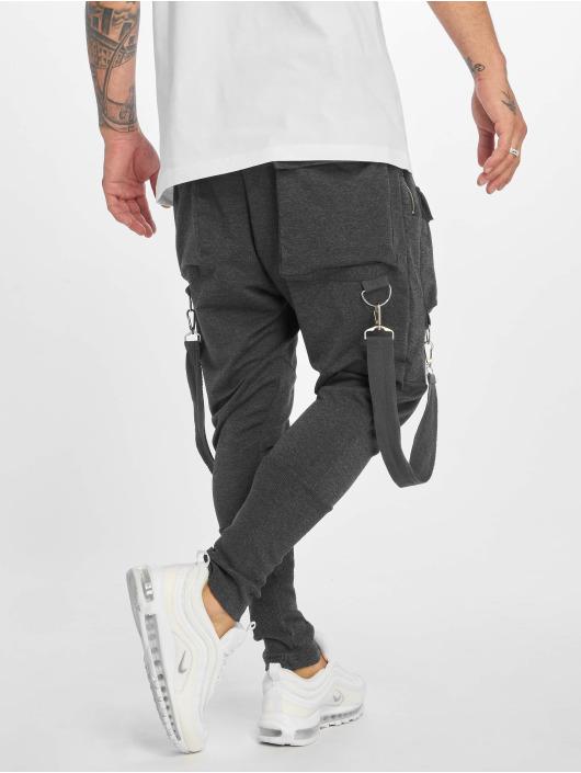 VSCT Clubwear Jogging kalhoty Front PKT šedá