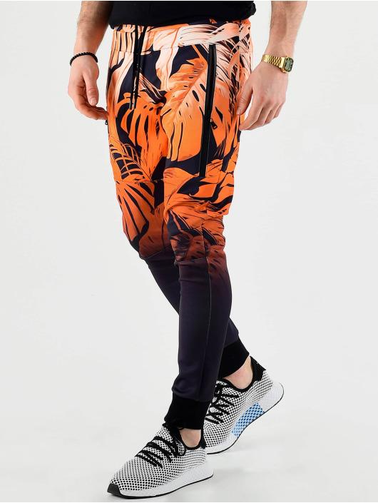 VSCT Clubwear Jogging kalhoty Graded Tech Fleece oranžový