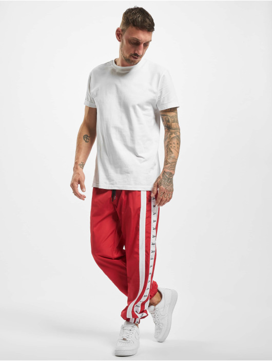 VSCT Clubwear joggingbroek MC Nylon Striped rood