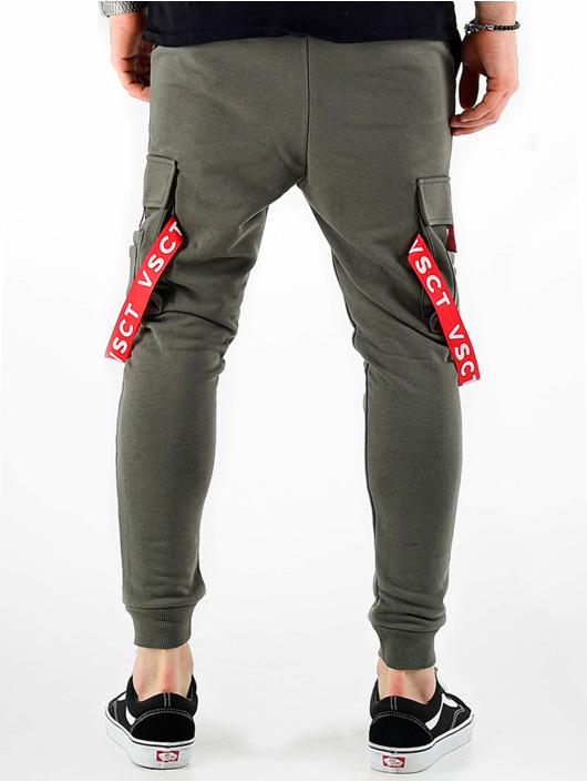 VSCT Clubwear Joggingbukser Jogger Logo Tape khaki