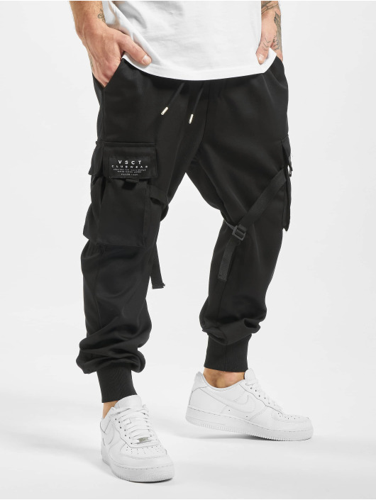VSCT Clubwear Joggingbukser Combat Antifit Nylon sort