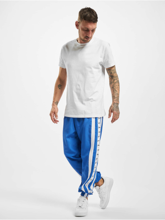 VSCT Clubwear Jogginghose MC Nylon Striped blau