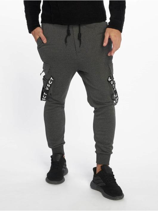 VSCT Clubwear Jogginghose Logo Tape grau