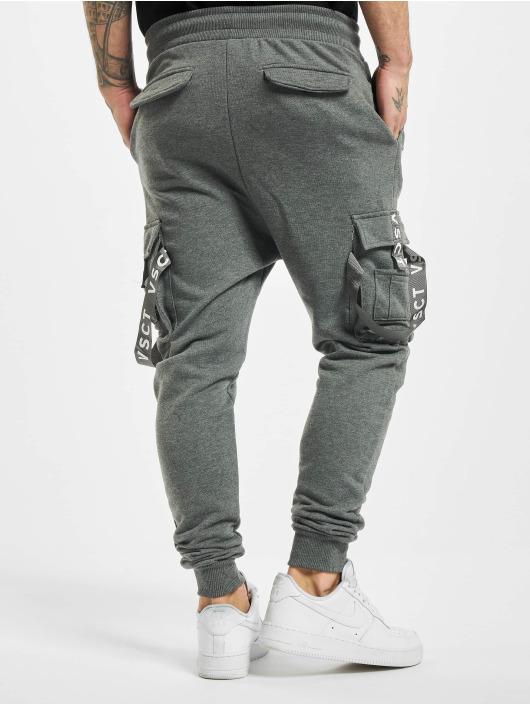 VSCT Clubwear Jogginghose Cargo Logo Tape grau