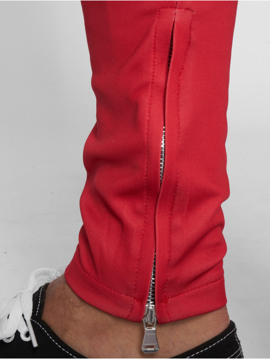 VSCT Clubwear Jogginghose Stripe with Zip Pocket rot