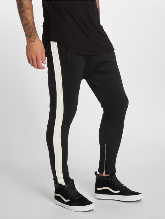 VSCT Clubwear Jogginghose Stripe schwarz