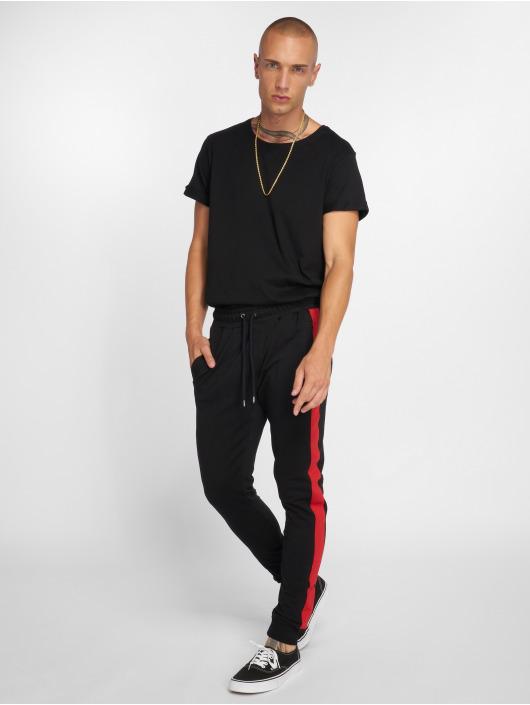 VSCT Clubwear Jogginghose Noah Cuffed schwarz