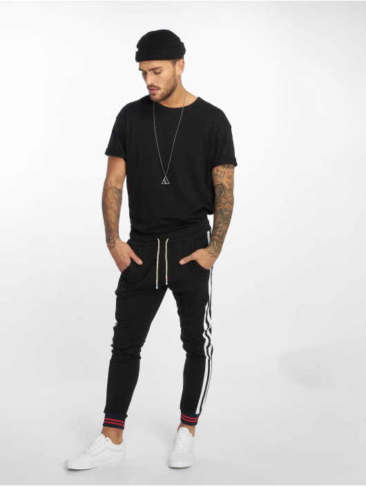 VSCT Clubwear Jogginghose 80ies schwarz