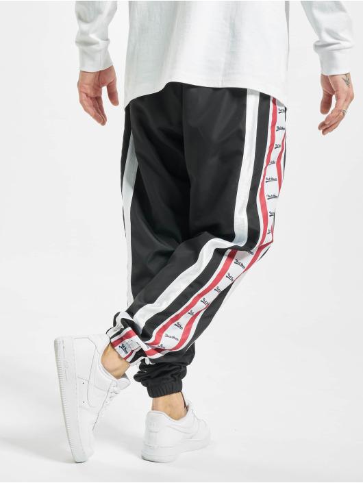VSCT Clubwear Jogginghose MC Nylon Striped schwarz