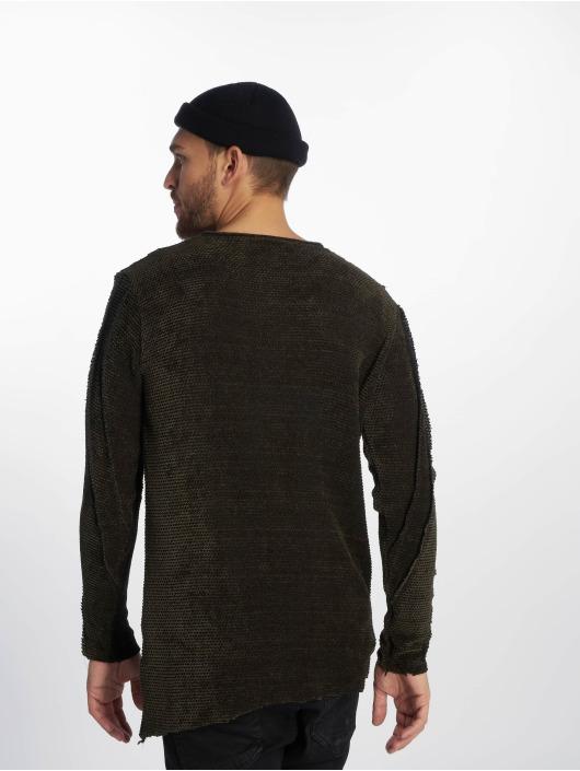 VSCT Clubwear Jumper Raw Cut green