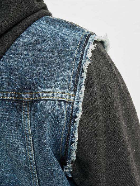 VSCT Clubwear Kurtka Dzinsowa Hybrid Denim niebieski