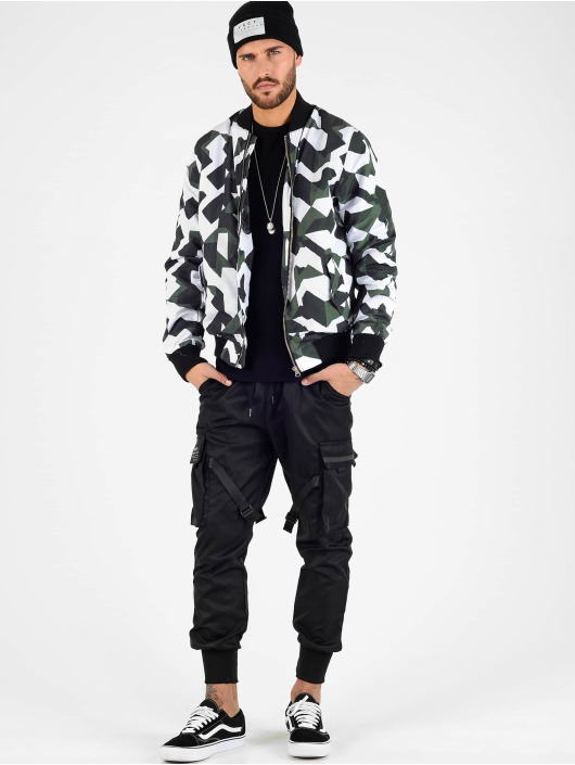 VSCT Clubwear Kurtki przejściowe Tech Camo czarny