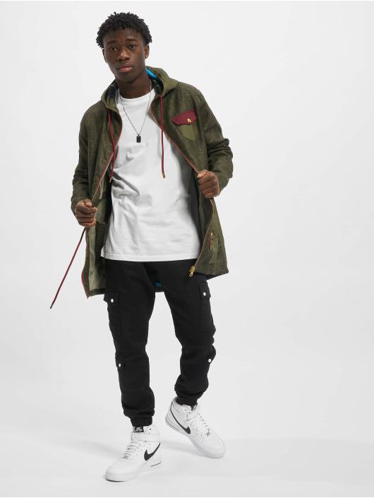 VSCT Clubwear Kurtki przejściowe Contrast Rain oliwkowy