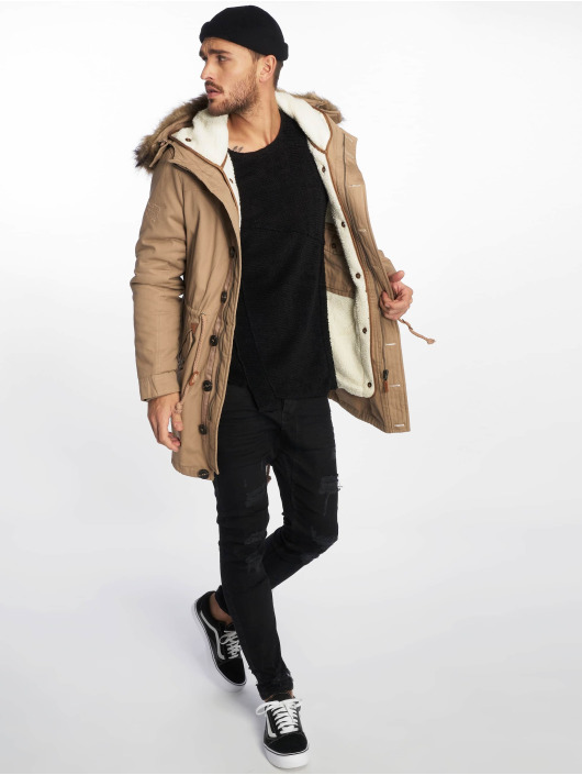 VSCT Clubwear Kurtki zimowe Luxury brazowy