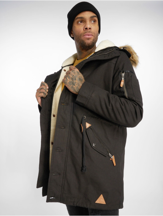 VSCT Clubwear Kurtki zimowe Luxury czarny