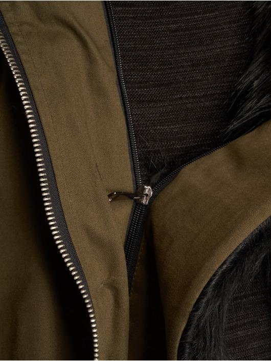 VSCT Clubwear Kurtki zimowe Zip Decor khaki